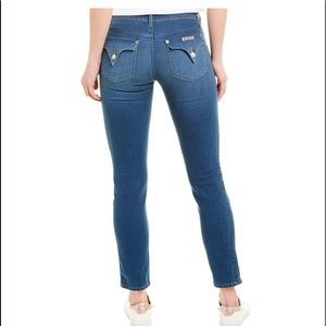 Hudson Colin Flap Cropped Skinny Jeans